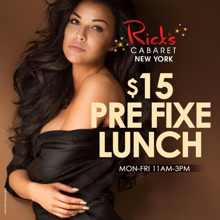 $15 Pre Fixe Lunch