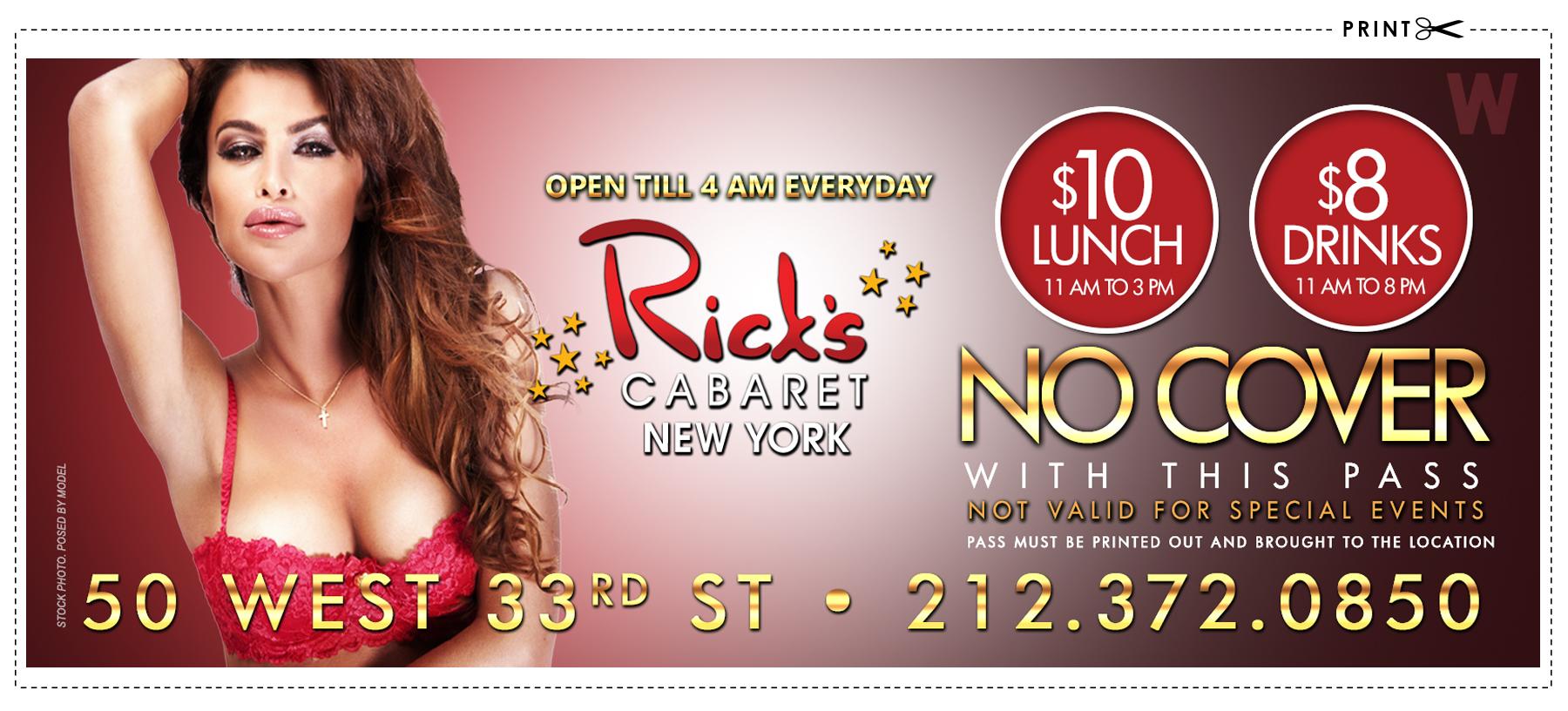 rick s cabaret in new york city